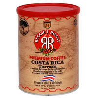 Reggies Roast Reggie's Roast Costa Rica Tarrazu Ground Coffee, 12-Ounce Cans (Pack of 4)