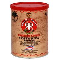 Reggies Roast Reggie's Roast Costa Rica Tarrazu Ground Coffee, 12-Ounce Cans (Pack of 4)