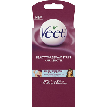Veet Body/Bikini/Face Wax Kit