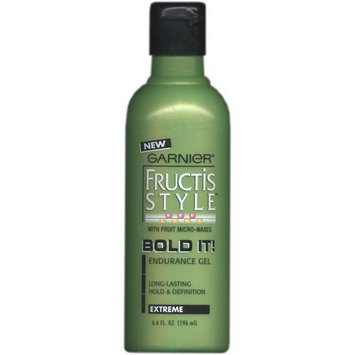 Sold as a pack of 3 Fructis Style Bold It! Endurance Gel, 6.6 OZ EACH