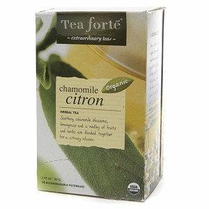 Tea Forte Organic Herbal Tea