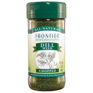 Frontier Culinary Spices Dill Weed Cut and Sifted, 0.35-Ounce Bottles (Pack of 6)