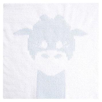 Love by Little Giraf LOVE Cloud Knit Giraffe Blanky - Blue