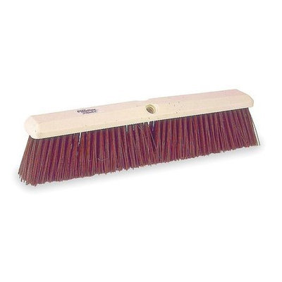 TOUGH GUY 1A847 Push Broom, Maroon Synthetic, Garage