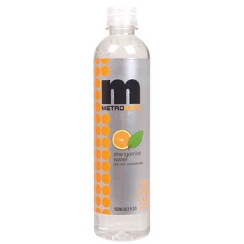 Metromint Orangemint Water, 16.9100-ounces (Pack of12) ( Value Bulk Multi-pack)