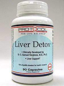 Liver Detox 90 caps by Protocol For Life Balance
