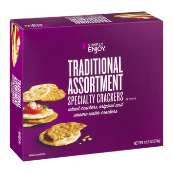 Simply Enjoy Traditional Assortment Specialty Crackers