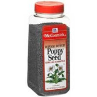 McCormick Poppy Seed - 20 oz. container, 6 per case
