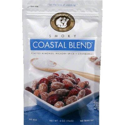 Southern Style Nuts Almond Smoky Coastal Blend Nut Mix 4 Ounce (Pack of 6)