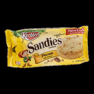 Keebler Sandies Cookies Pecan Shortbread