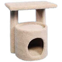 Ware Manufacturing Cozy Hideaway Kitty Condo with Perch