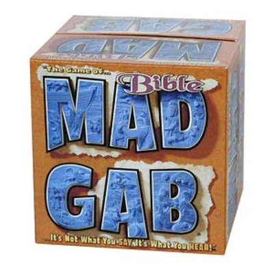 Mattel Mad Gab Bible Edition Game Ages 10+, 1 ea