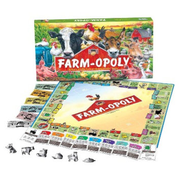 Late for the Sky Productions Late for the Sky FARM-OPOLY Board Game