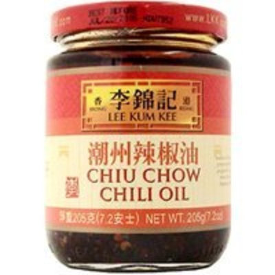 Unknown Lee Kum Kee Chiu Chow Chili Oil net wt. 205g (7.2oz)