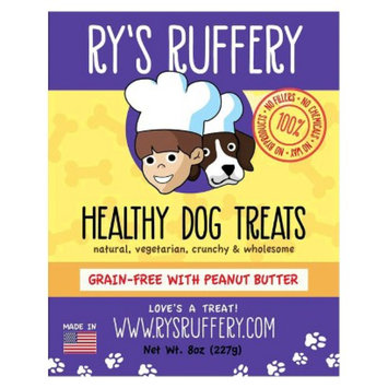 Ryan's Barkery Shark Tank Ry's Ruffery Healthy Dog Treats - Peanut Butter