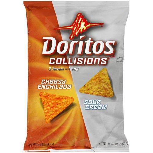 Doritos Collisions Cheesy Enchilada & Sour Cream Tortilla Chips