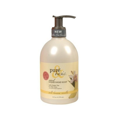 Pure and Basic Pure & Basic, LIQUID HAND SOAP WILD BANANA/VANILLA - 12.5 OZ