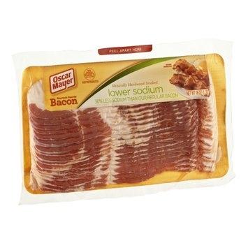 Oscar Mayer Naturally Hardwood Smoked Lower Sodium Bacon