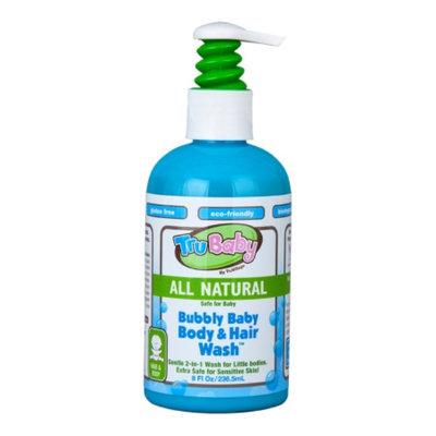 TruBaby Bubbly Baby Body & Hair Wash, Fresh Citrus, 8 fl oz