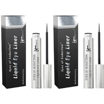 IT Cosmetics Liquid Gel Eye Liner, Deep Black .31 oz (8.72 g)