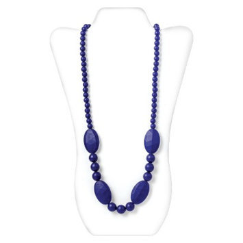 Nixi by Bumkins Ellisse Silicone Teething Necklace - Navy