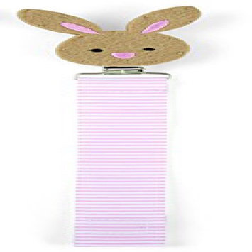 Mud Pie Pacy Clip, Bunny/Pink 2112211