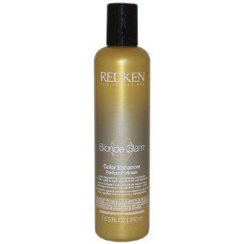 Redken Blonde Glam Color Enhancer Perfect Platinum Conditioning Treatment, 8.5 Ounce