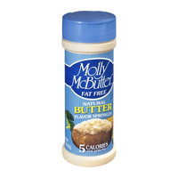 Molly McButter Fat Free Natural Butter Flavor Sprinkles