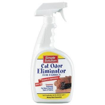 Bramton Simple Solution Fabric Odor Eliminator for Cats, 32 Ounce Spray Bottle