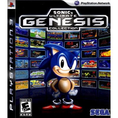 Sega Sonic's Ultimate Genesis Collection (PlayStation 3)