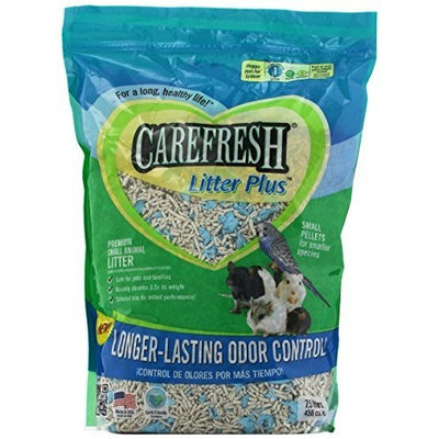 Absorption Corp Absorbtion Corp Carefresh Pet Litter Plus for S Animals, 7.5-Liter