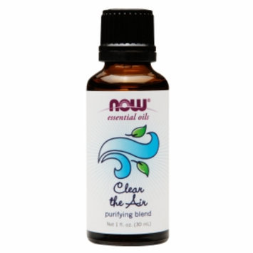 NOW Essential Oils Clear the Air Purifying Blend, 1 fl oz