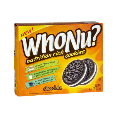 WhoNu? Nutrition Rich Chocolate Cookies