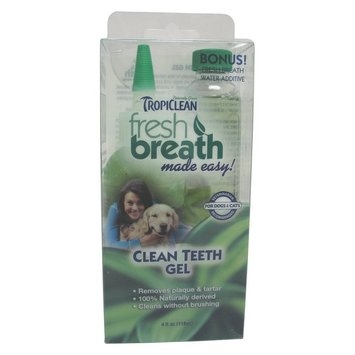 TropiClean Clean Teeth Gel