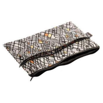 Nixi by Bumkins Recycled Fabric Poco Waterproof Diaper Clutch - Echo