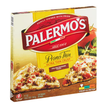 Palermo's Primo Thin Ultra Thin Crust Italian Sausage Pizza