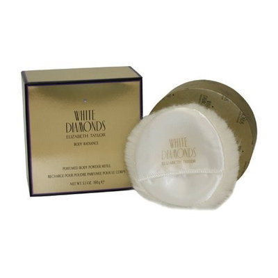 White Diamonds By Elizabeth Taylor For Women Body Powder Refill 5.3 Oz