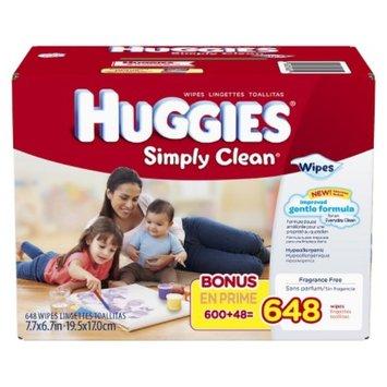 Huggies Simply Clean Baby Wipes Refill