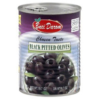 Liebers Black Pitted Olives, Passover, 19.75-Ounce (Pack of 6)