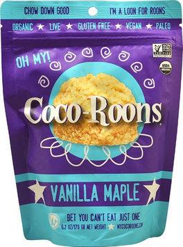 Wonderfully Raw Coco-Roons Organic Gluten Free Vanilla Maple 6.2 oz - Vegan