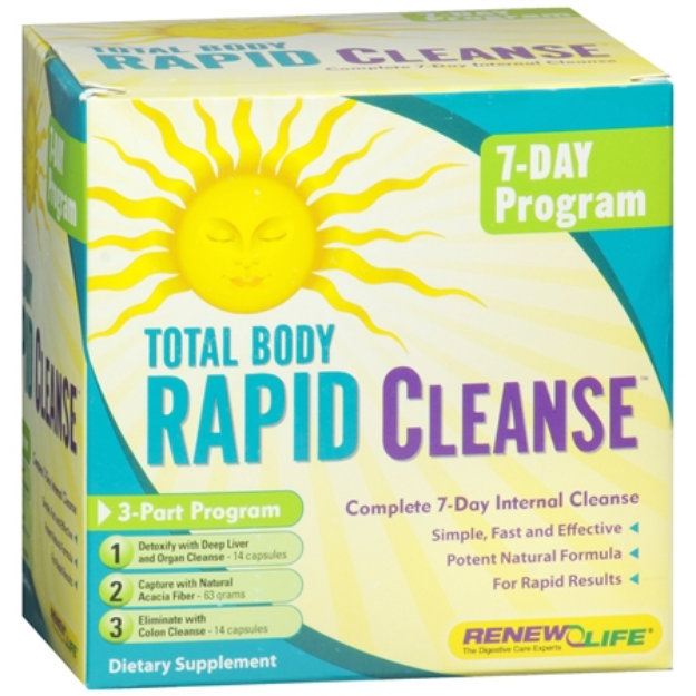Renew life total body rapid cleanse reviews malvernweather Image collections