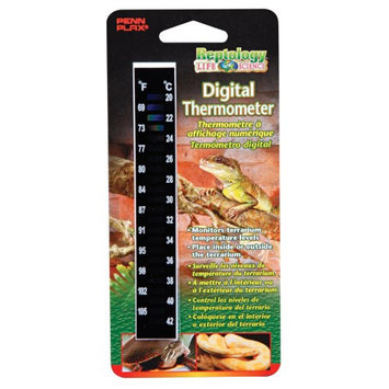 Penn Plax Reptology High-Range Digital Thermometer - REP41
