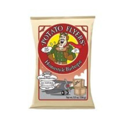 Pirate Brands Pirates Booty Homestyle BBQ Potato Flyers (12x5.5oz) ( Value Bulk Multi-pack)
