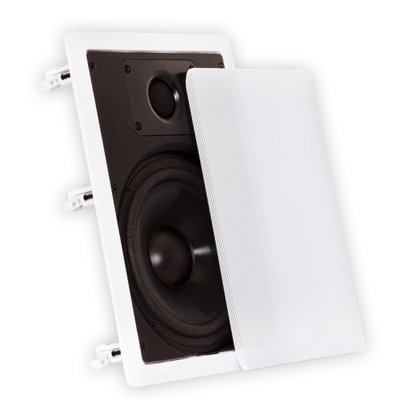 Theater Solutions 8 Inch In Wall Speakers Home Theater 1600 Watts 4 Pair Pack 4CS8W