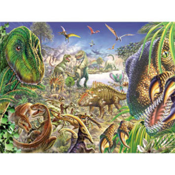 TDC Games Jurassic World 1000 Piece Puzzle Ages 8+