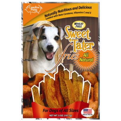 Carolina Prime Wheat Free Sweet 'Tater Fries Dog Treat