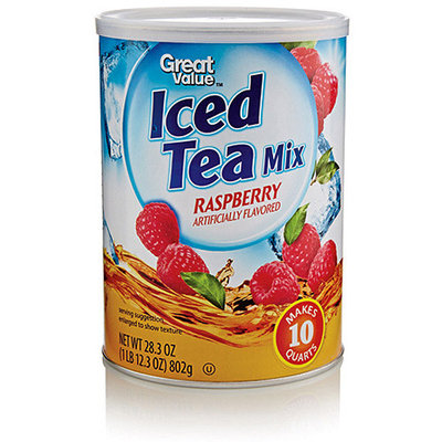 Great Value: Raspberry Iced Tea Mix, 28.3 oz