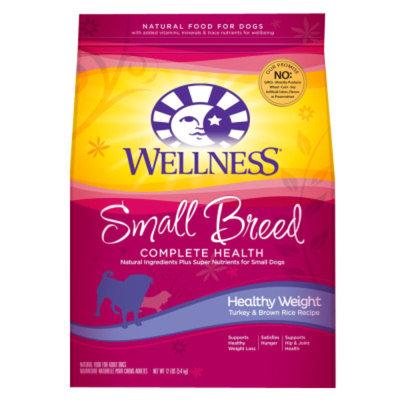 WellnessA Healthy Weight Small Breed Adult Dog Food