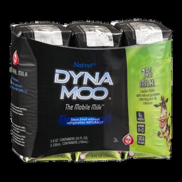 Natrel Dyna Moo 1% Milk - 3 CT