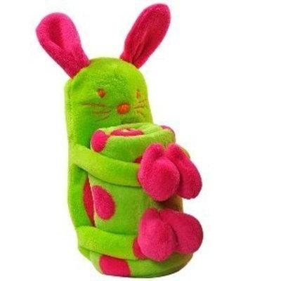 Elegant Baby Blanket/Toy-Bunny